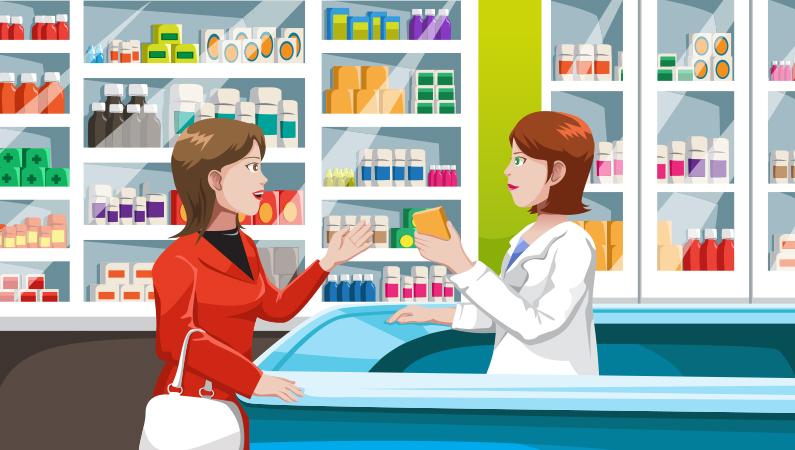 Spørg om hjælp på apoteket
